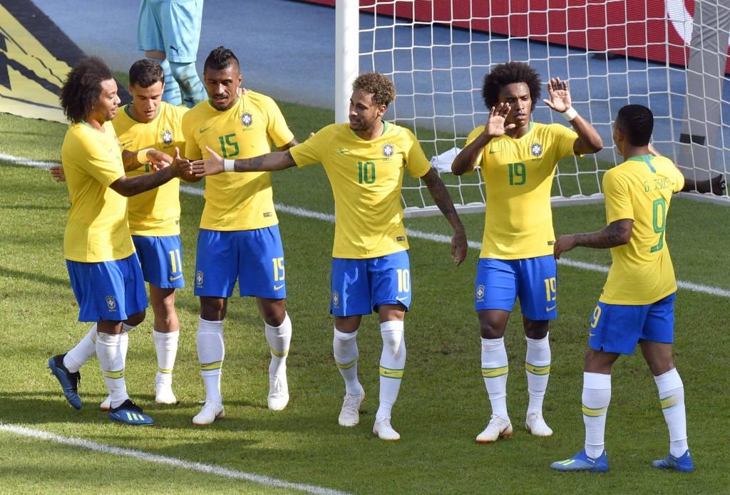 e208b49cf9e2c Brasil terá hoje jogo decisivo e pode enfrentar a Alemanha nas oitavas.  Detalhes  27 Junho 2018. Foto - Divulgação