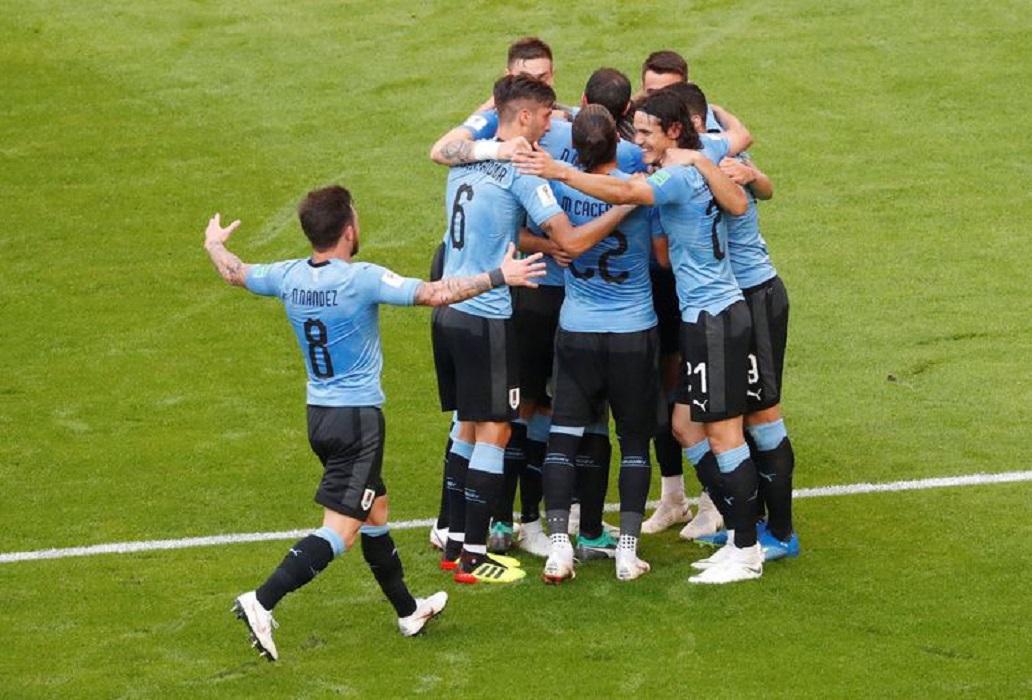 ce7e04e838 A seleção do Uruguai não teve qualquer dificuldade para vencer a Rússia por  3 a 0